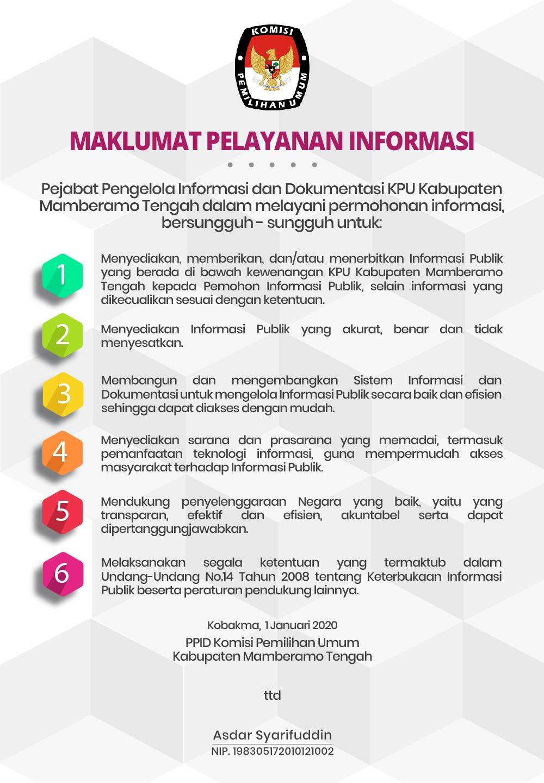 Maklumat PPID Kab Mamteng